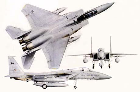 بررسی نیروی هوایی عربستان
